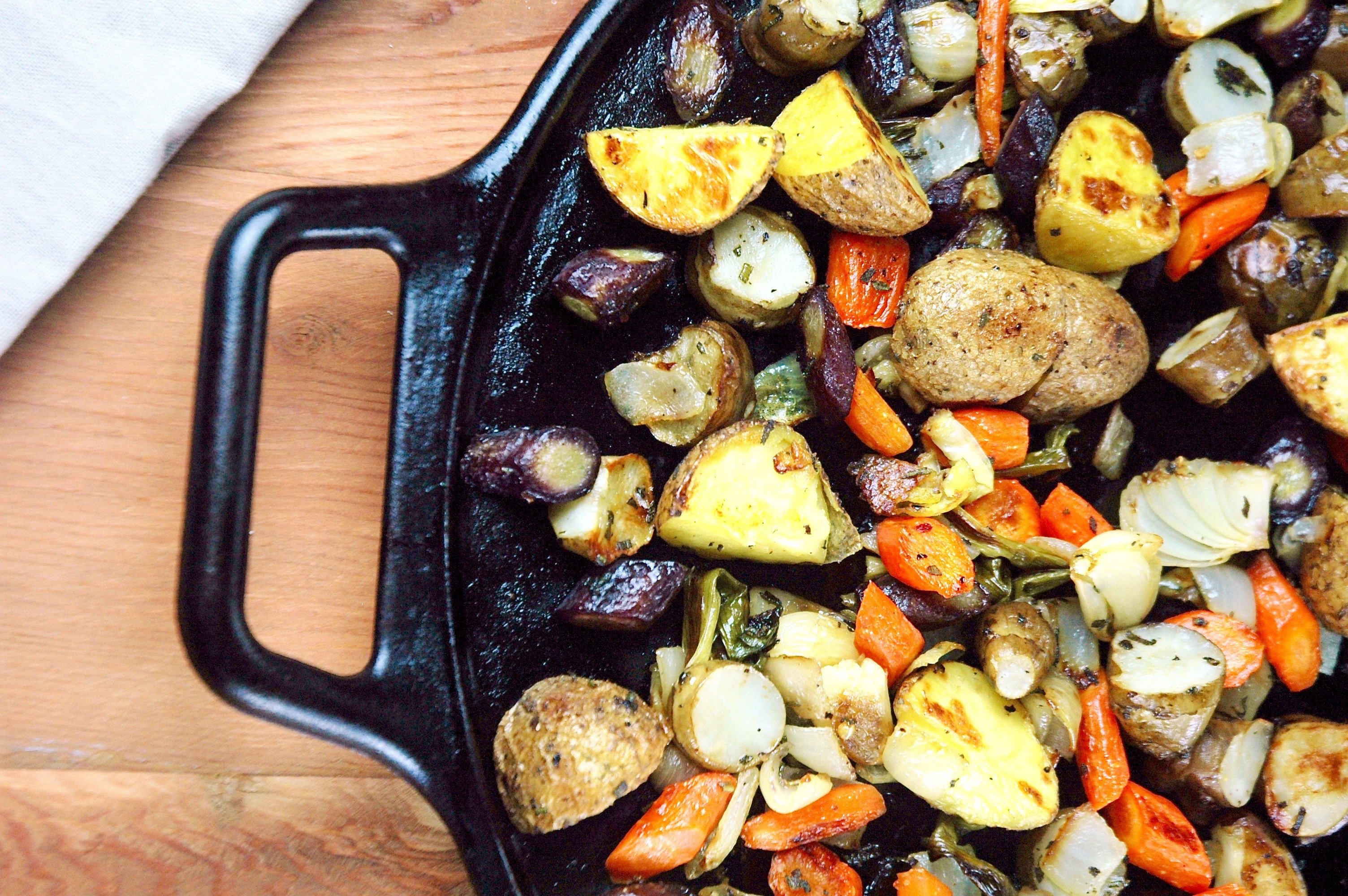 Herb-Roasted Root Veggies