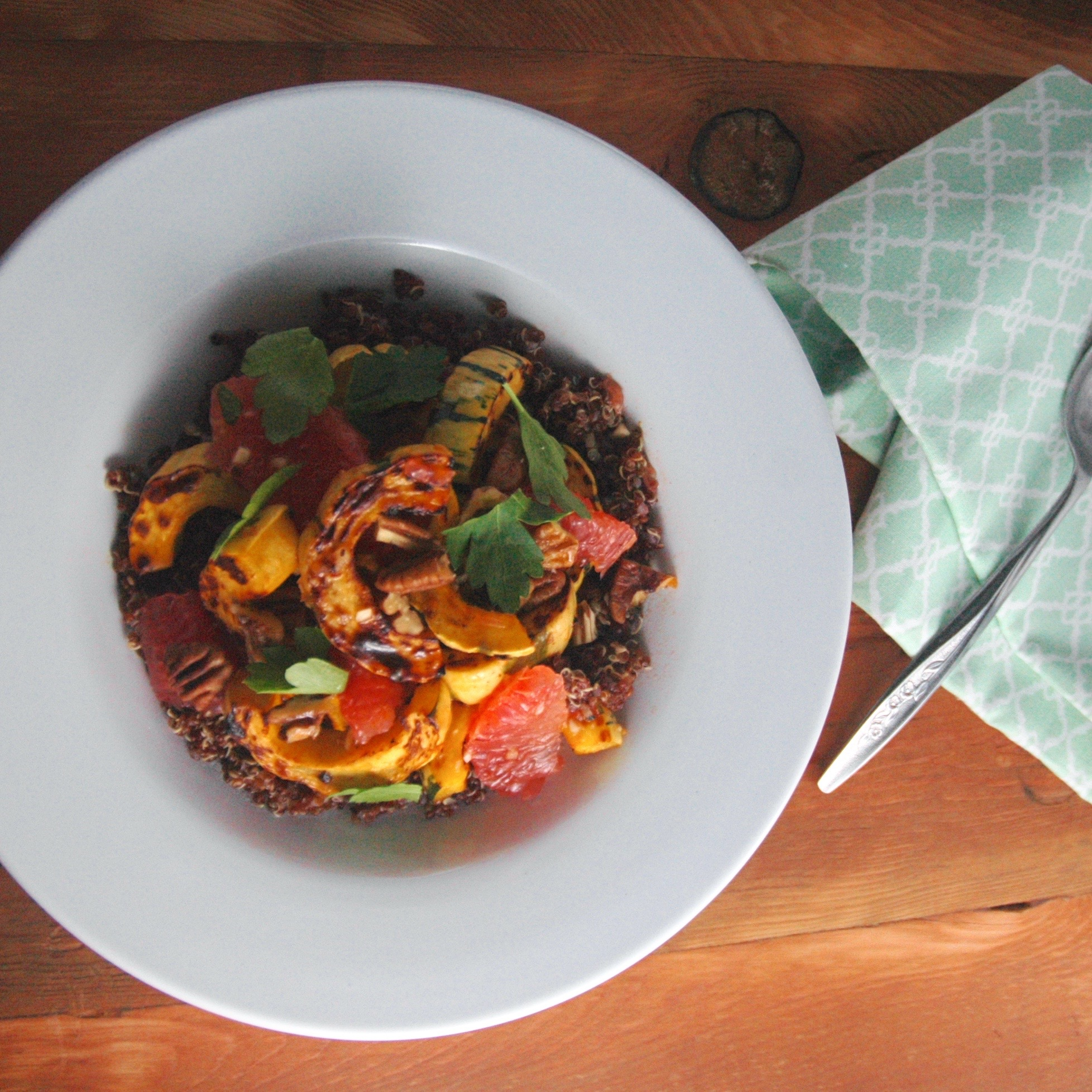 Smoky Sweet Winter Quinoa Salad