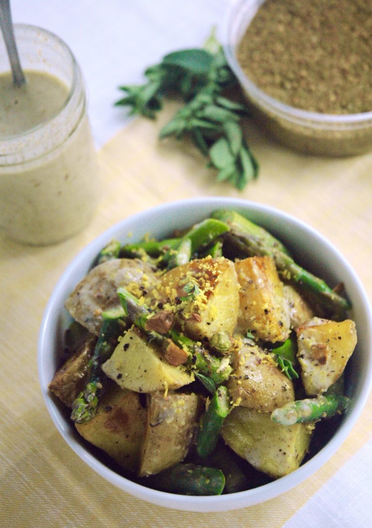 Creamy Za'atar Potatoes & Pan-Roasted Chicken