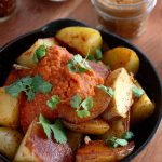 An easy Patatas Bravas recipe you can make at home any night of the week. This tapas restaurant favorite works great as an appetizer or even brunch.