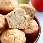 Simple Ginger-Spiced Apple Muffins