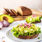 Avocado Egg Salad | kaleandcompass.com